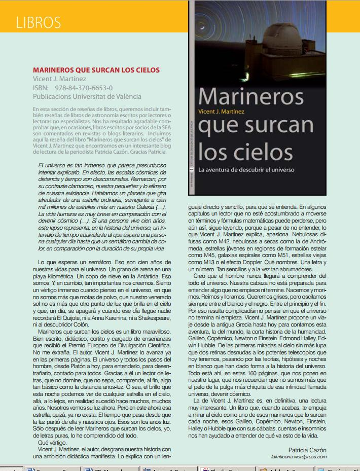 kriticona Sociedad Española de Astronomía