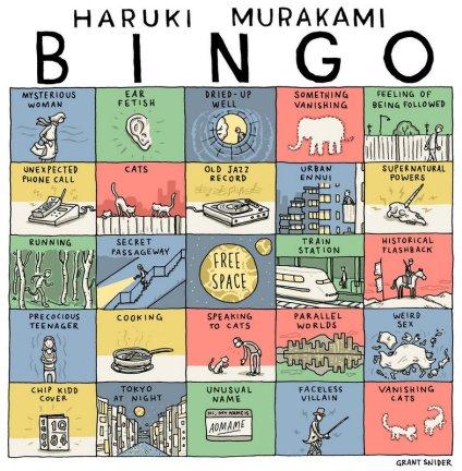 Bingo Murakami de Grant Snider